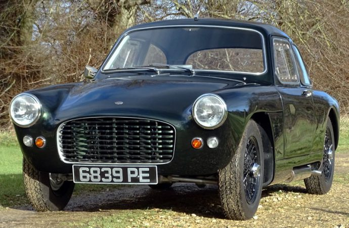 One-off Tojeiro Climax coupe headed across auction block