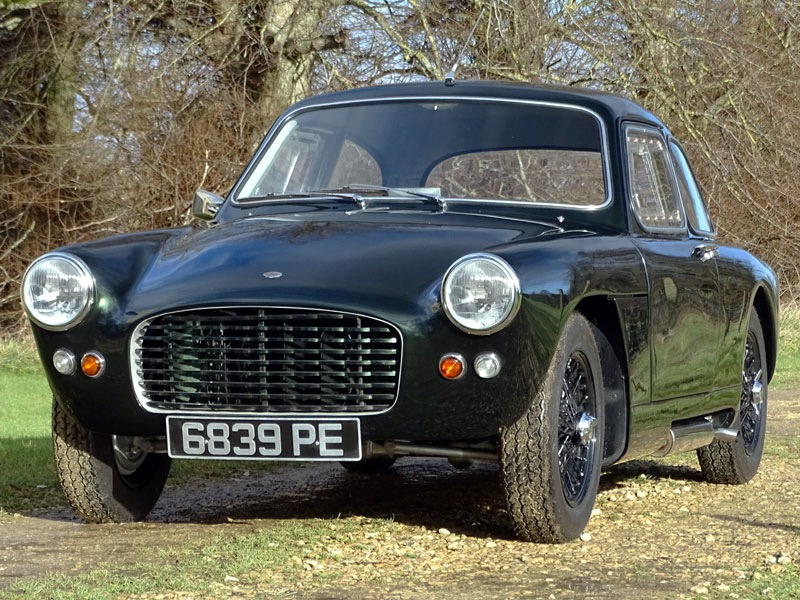 John Tojeiro created the chassis beneath the Tojeiro Climax coupe | H&H Classics photos