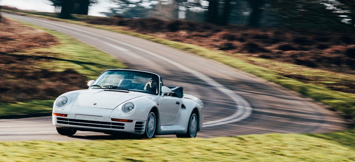 959 Speedster | Coys photo by Malcolm Griffiths