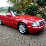1996 Mercedes Benz SL500_COYS_Spring Classics