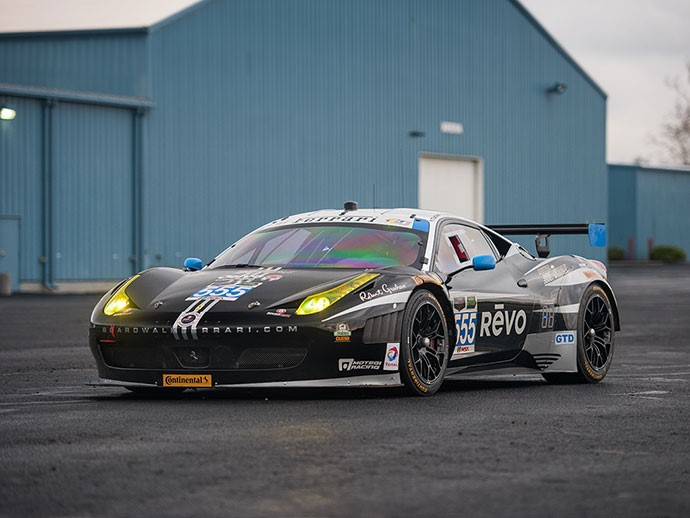 2012 Ferrari 458 GTD used by Level 5 Motorsports | Photos courtesy Auctions America