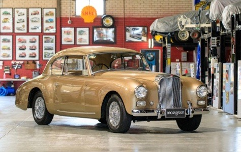 1953 Alvis Graber TA21G coupe was found in garage of coachbuilder's widow | Mossgreen photos