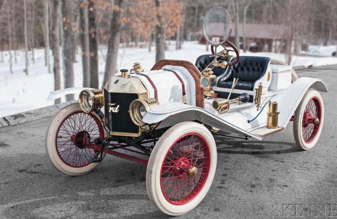 Dozen collector cars included in Skinner auction