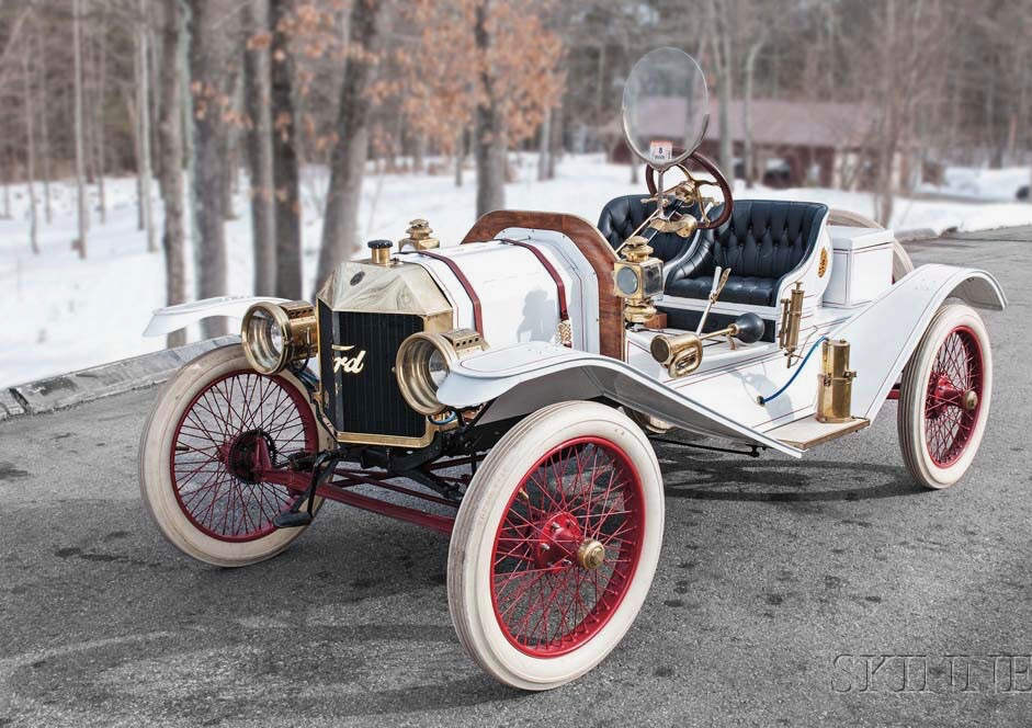 1909 Ford Speedster among cars from Eugene Bunce collection | Skinner Auctions photos