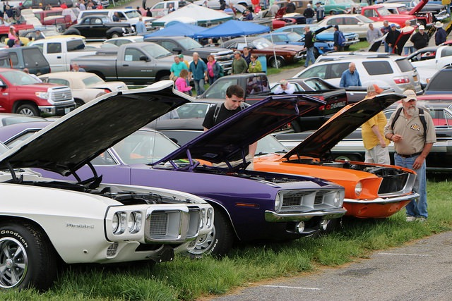 Carlisle Spring fling: Cars, parts and even an auction