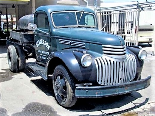 Vintage work trucks that have appeared in films will be among the auction vehicles | Tiger Group photos