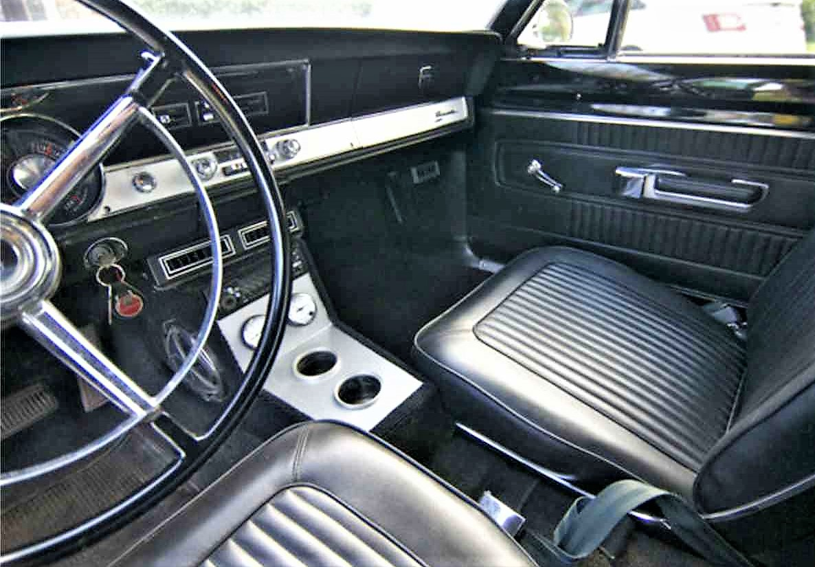 The interior is said to be largely original