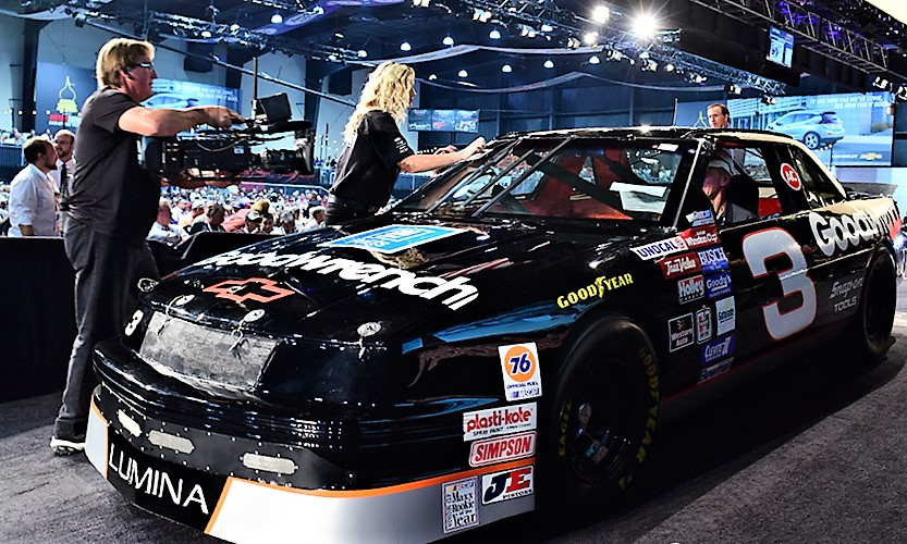 Dale Earnhart's Goodwrench 1989 Chevrolet Lumina after its sale