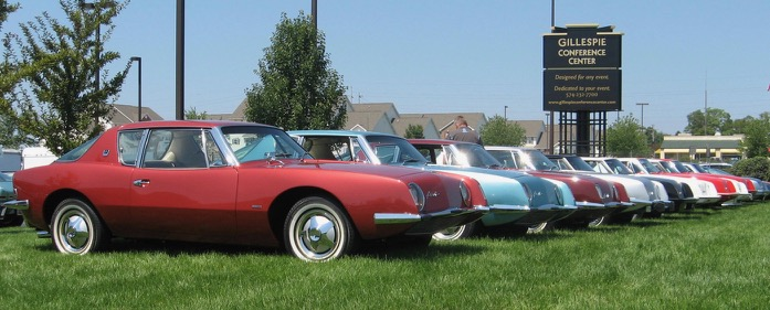 Avanti owners will return to South Bend for annual gathering with other Studebaker owners groups | Bill Panzica SportingShots photos