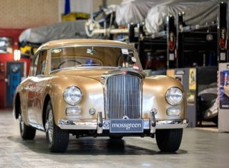 Unusual Alvis duo crossing Mossgreen's auction block