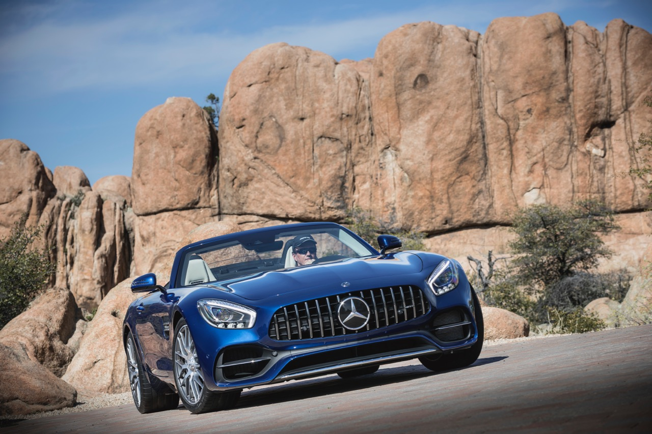 2018 Mercedes-AMG GT Roadster comes highly recommended | Mercedes-AMG photos