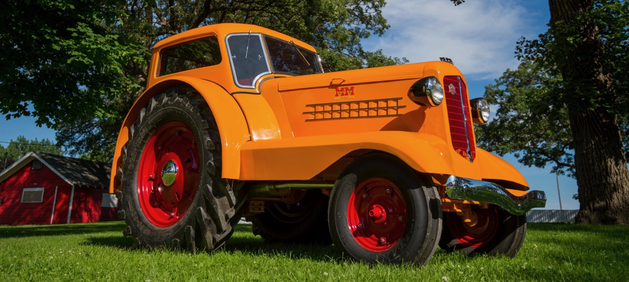Tractor for road and field was top seller