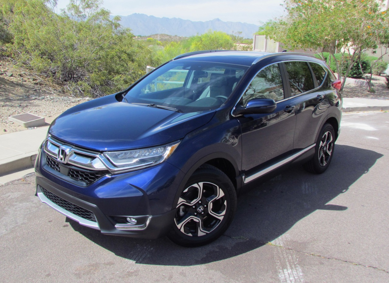 Launch of 2017 Honda CR-V marks the start of the compact crossover's fifth generation   Larry Edsall photos
