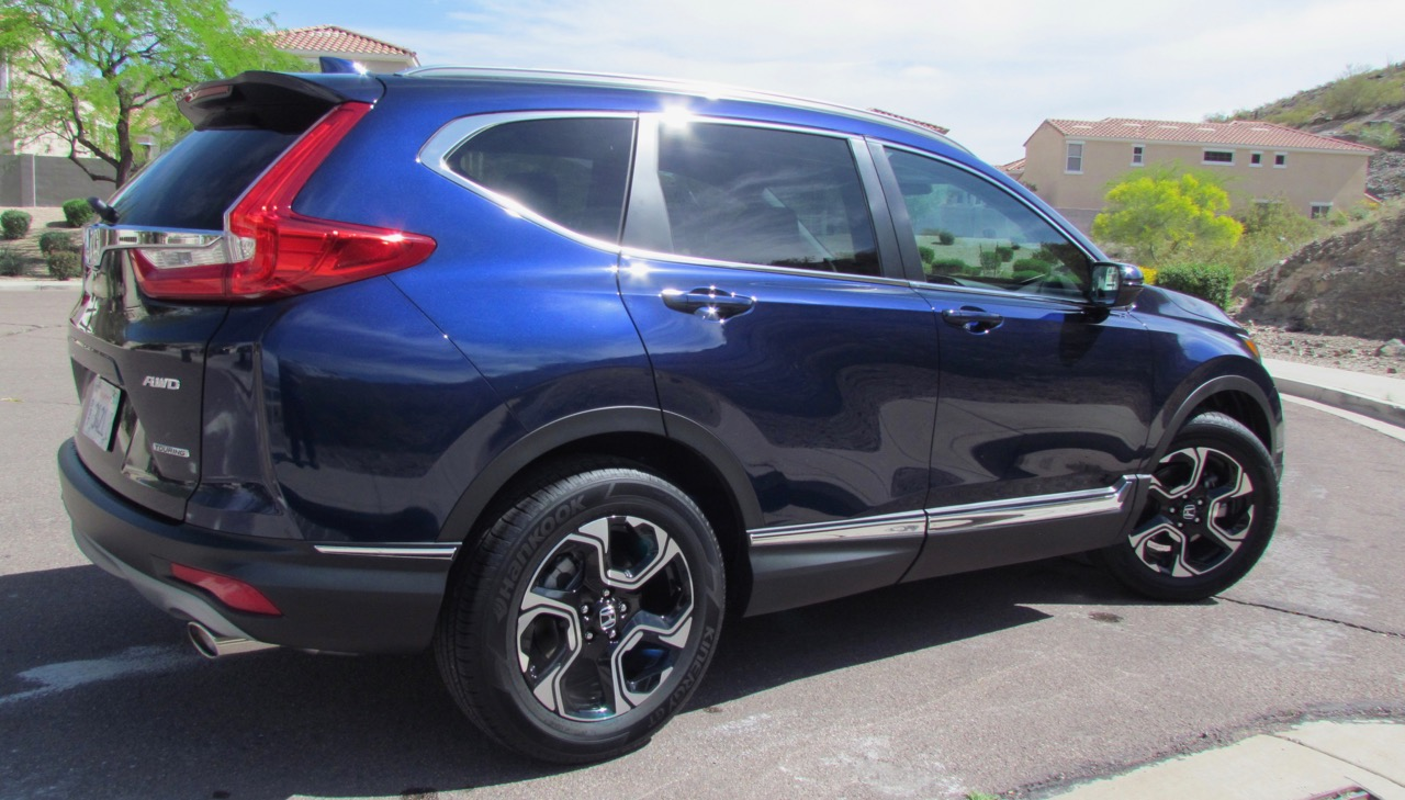 CR-V is redesigned inside and out for 2017