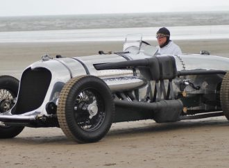 Record-setting '33 Napier-Railton on display in London