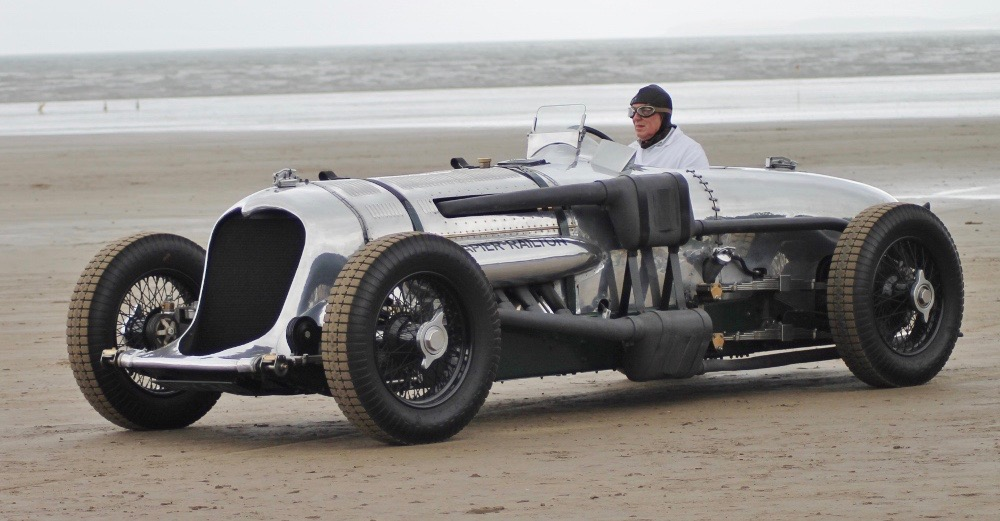 1933 Napier-Railton Special out for a test drive | Brooklands Museum photos