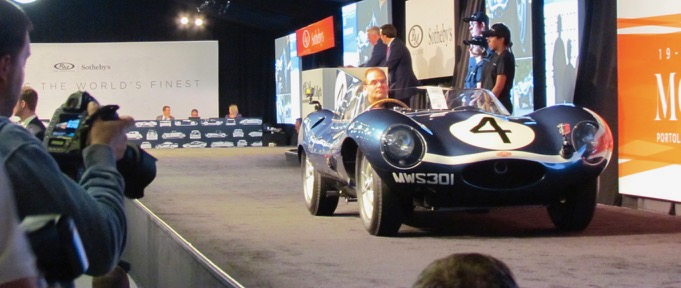 Series will show how RM Sotheby's staff finds and consigns cars such as this D-type Jaguar at Monterey 2016 | Larry Edsall photo