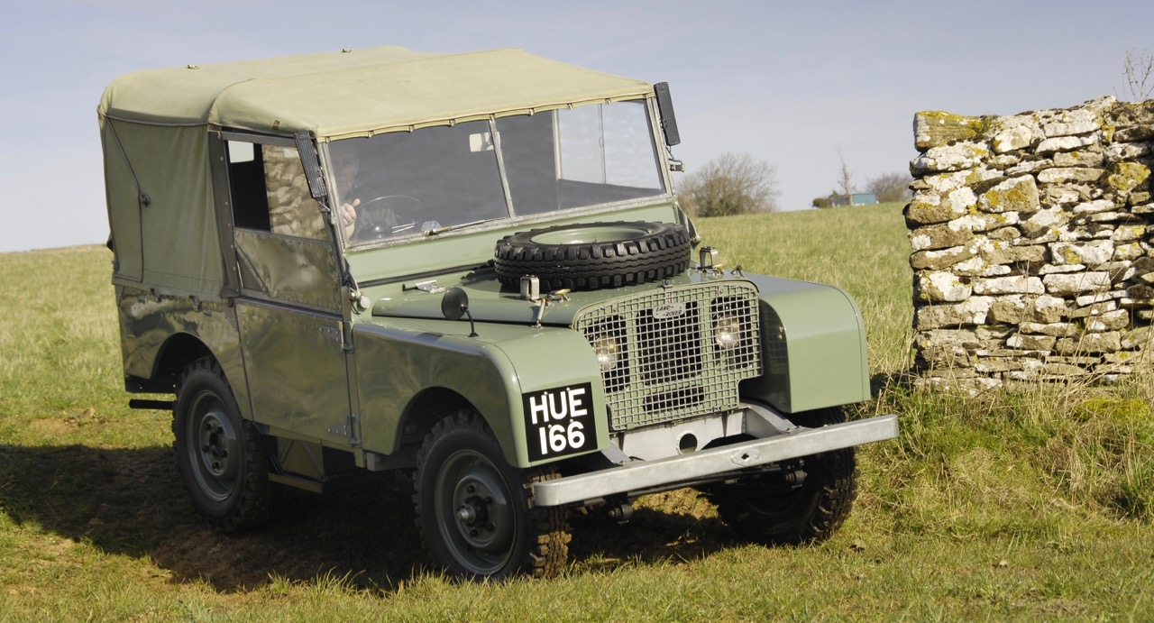 Land Rover Defender voted in at No. 3