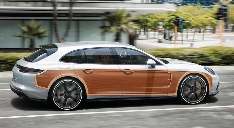 Porsche's 'woodie'