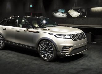 Exhibit tells stories of Range Rover and its Velar, then and now