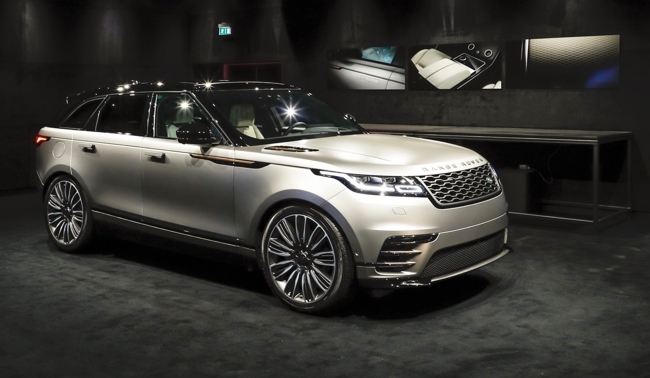 The new Velar in the Reveal Room