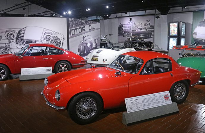 Gilmore museum bids farewell to its sports cars exhibit