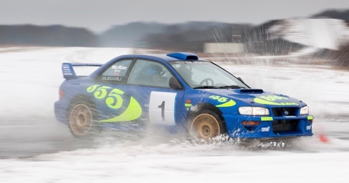 Road legal, but rally -- or winter -- ready