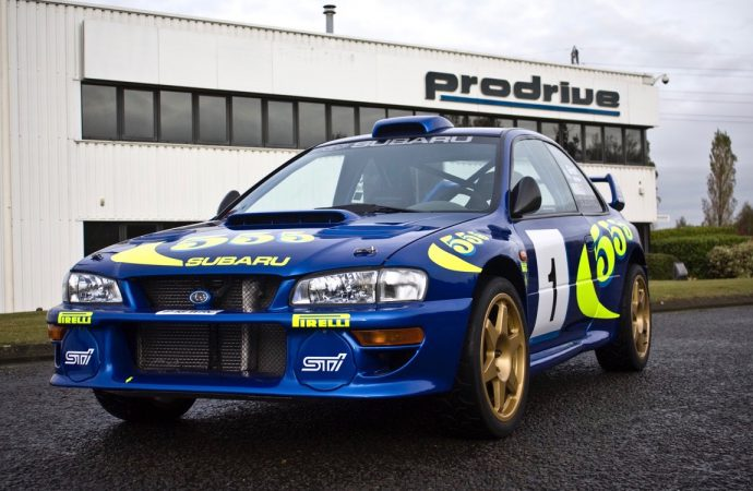 Rally car star on H&H Classics auction docket