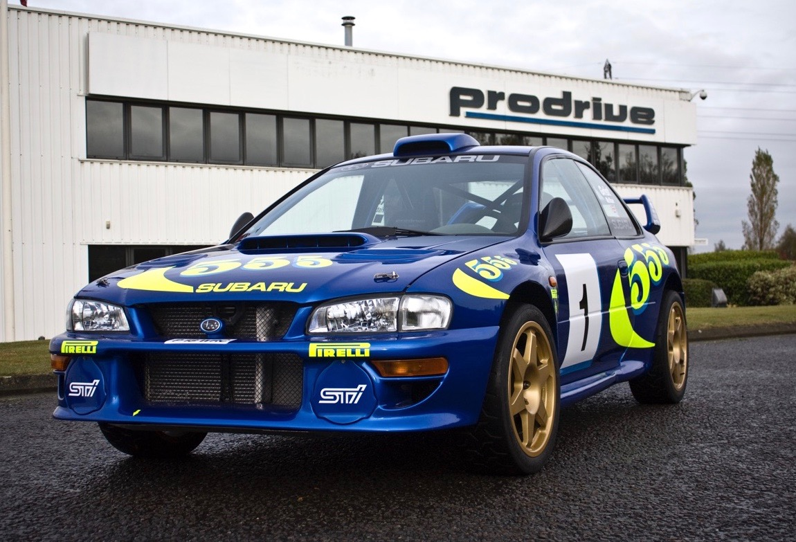 Chassis 001 has undergone restoration at Prodrive, where the rally car was developed | H&H Classics photos