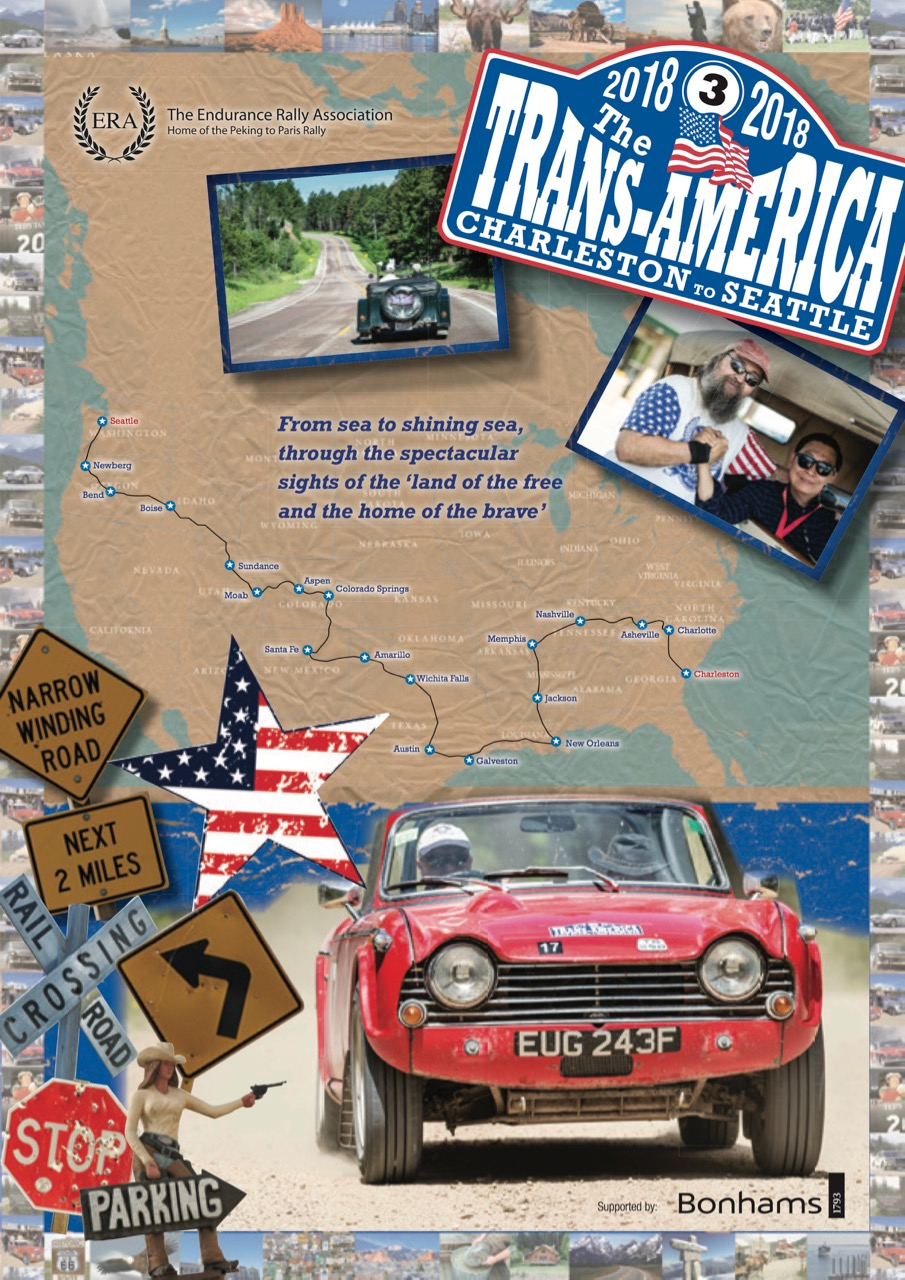 Trans American brochure cover