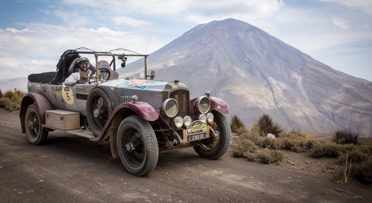 A Vauxhall competes on Bespoke Rallies' South American event | Bespoke Rallies photos