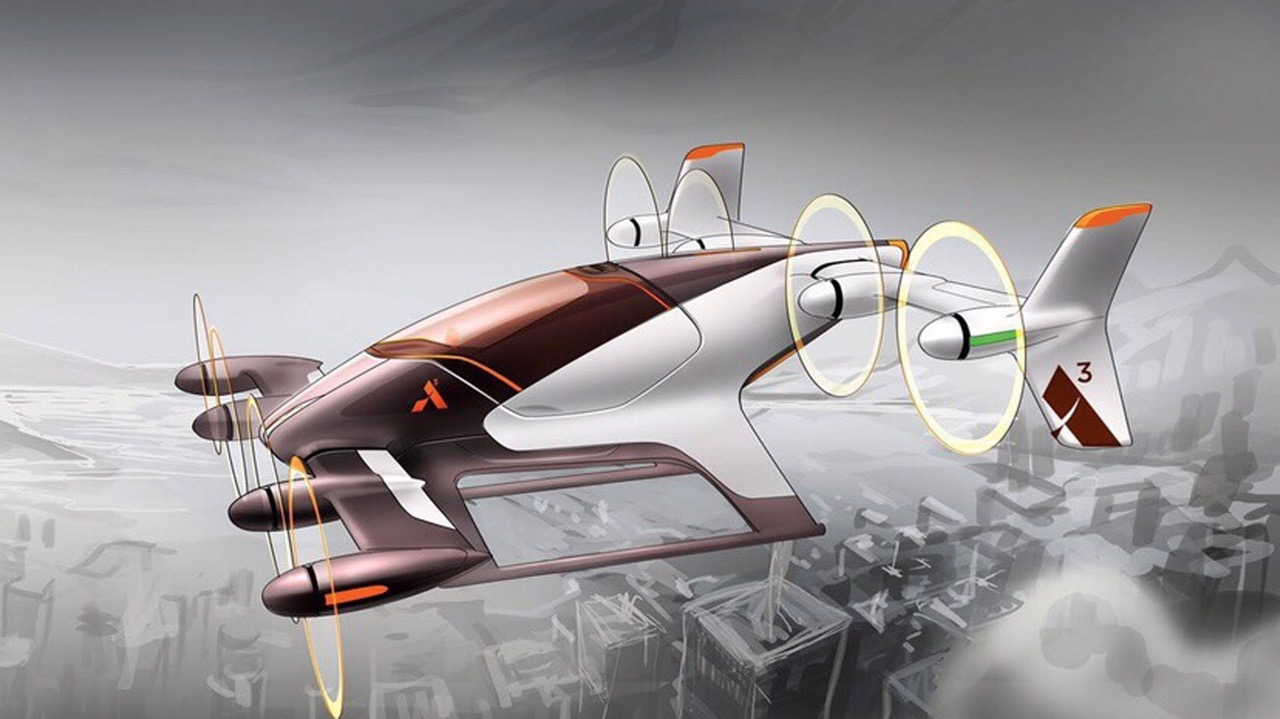 Airbus' Project Vahana 'car' | dezen.com photo