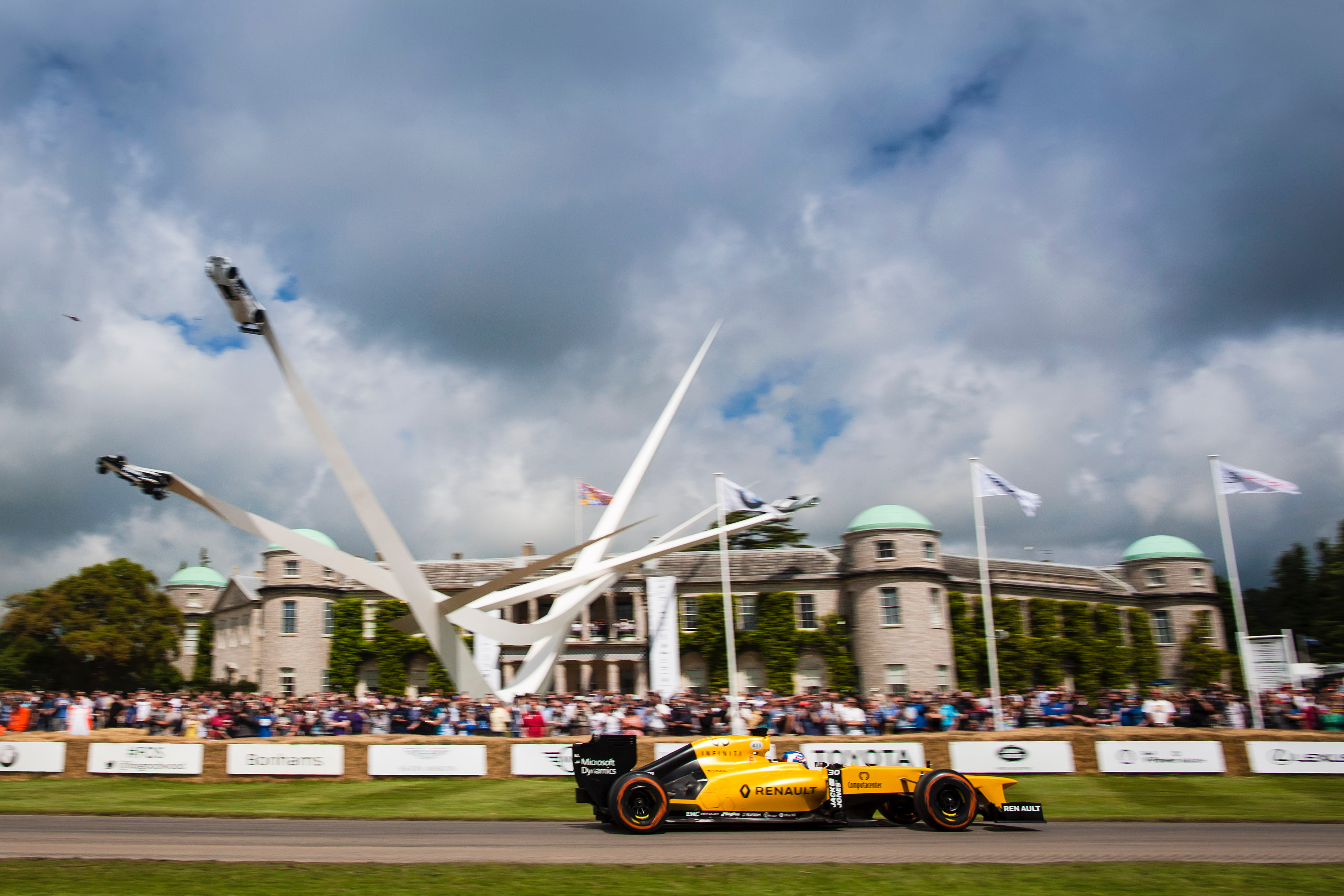 Goodwood also will celebrate game-changing racing cars of various marques