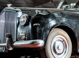 Ray Davies' Bentley, a rock 'n roll relic, at Silverstone auction