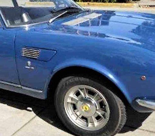 1967 Fiat Dino 2.0 coupe
