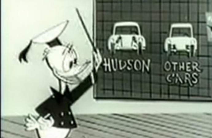 Rewind: 1955 Hudson Hornet TV commercial