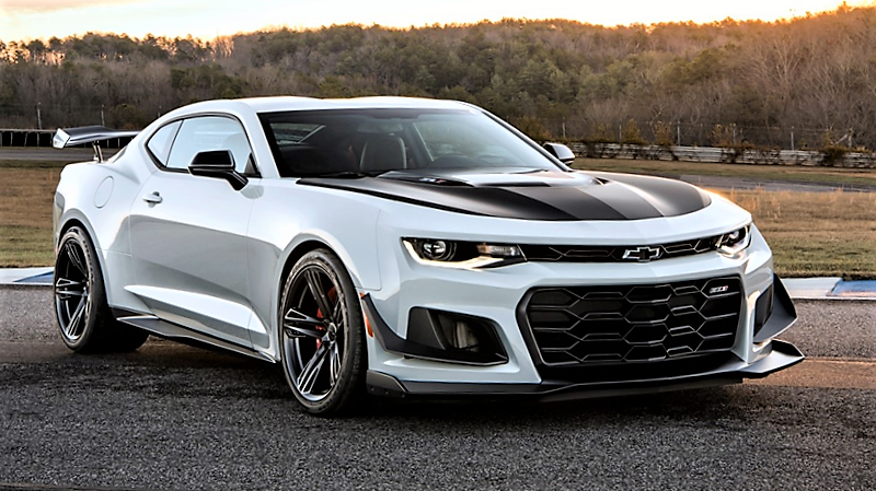 Top bidder will win rights to a 2018 Chevrolet Camaro ZL1 LE