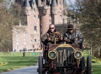 Small but mighty, 1939 MG wins Flying Scotsman vintage rally