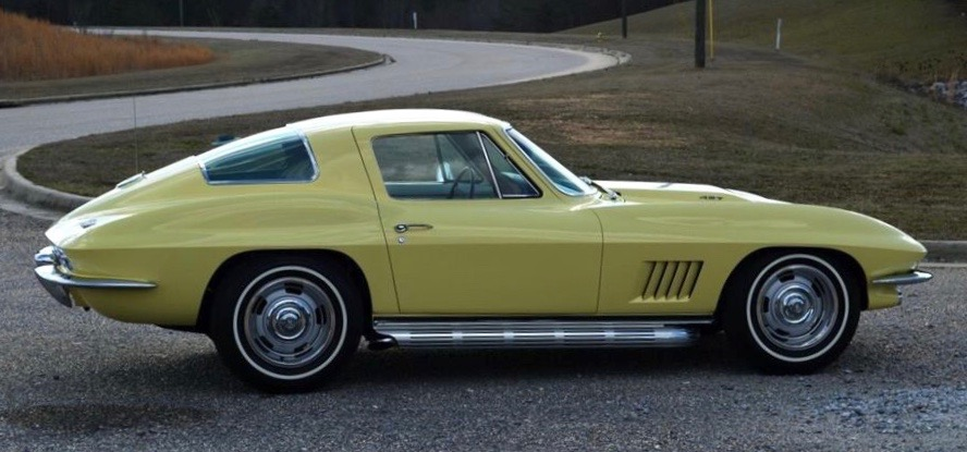 1967 Chevrolet Corvette among vehicles offered at auction