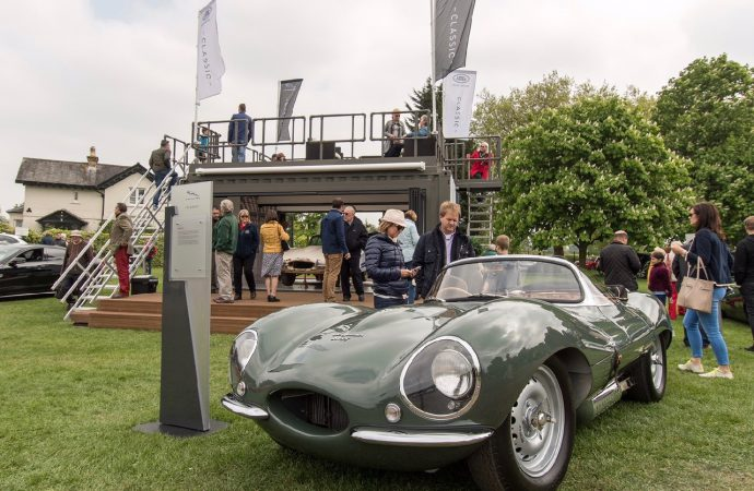Cool cats: 1,200+ Jaguars gather at Windsor Castle
