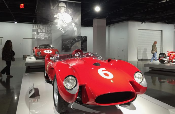 Seeing Red: The Petersen's tribute to 70 years of Ferrari