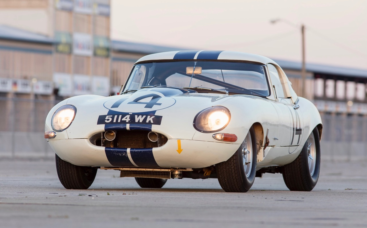 Briggs Cunningham's team raced the No. 14 Jaguar at Le Mans in 1963 | Bonhams/Litwinski photo