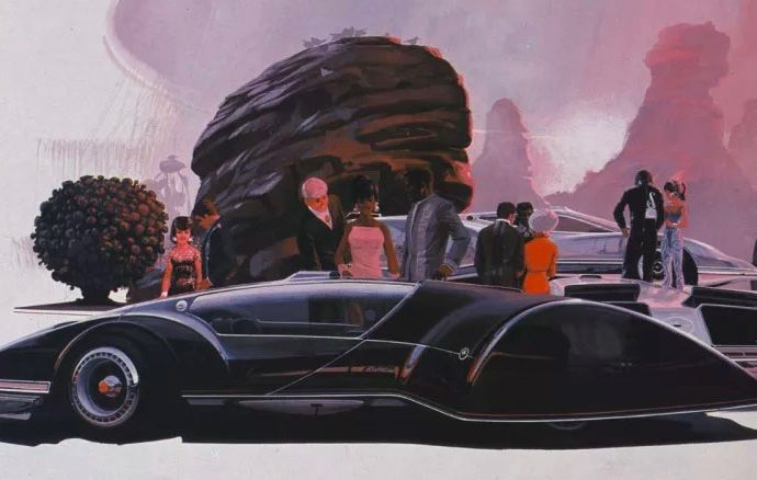 Syd Mead looks 30 years into the future