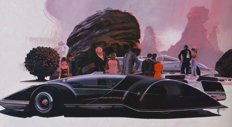 Another of Syd Mead's auto artworks