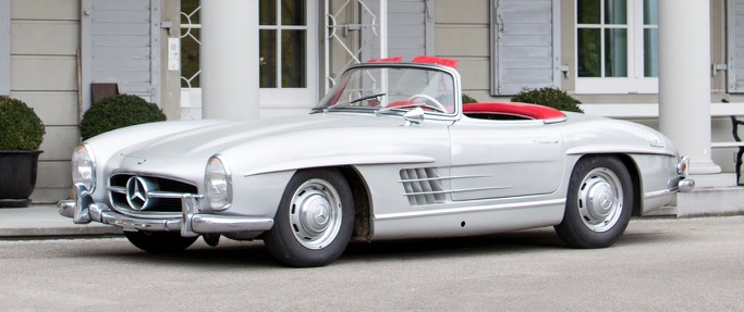 300 SL roadster tops Bonhams' Spa Classic auction | Bonhams photos