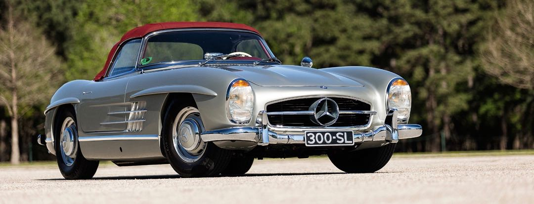 300 SL tops Texas auction