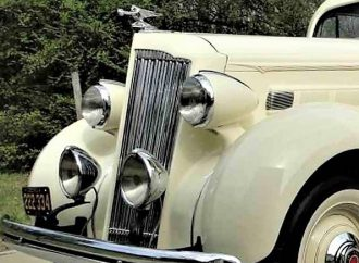 1936 Packard 120 rumble-seat coupe