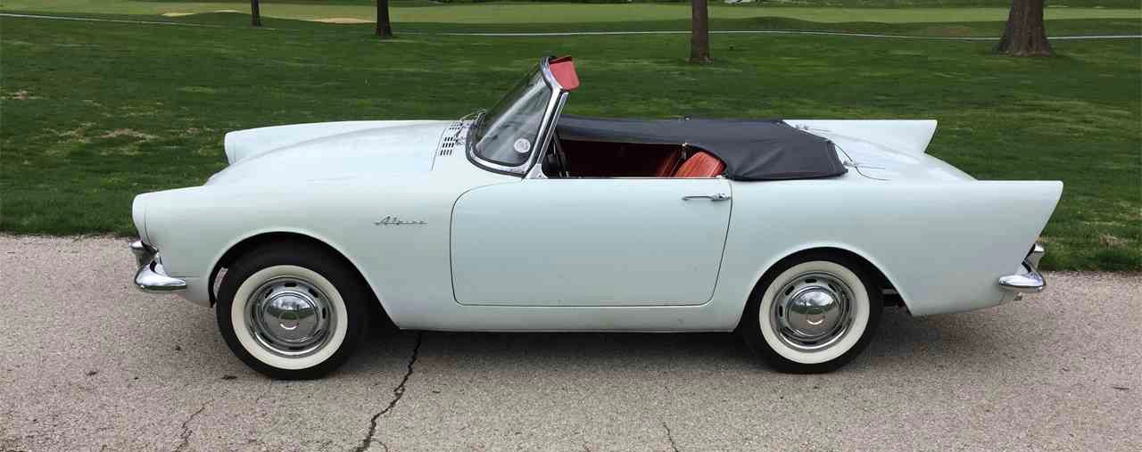 1962 Sunbeam Alpine is basis for heralded Sunbeam Tiger