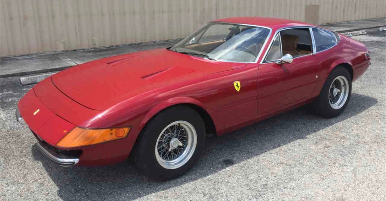 Pick of the Day is an original 1972 Ferrari 365 GTB/4 available after nearly 32 years