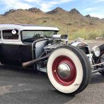 The Ford-based rat rod displays high-quality workmanship